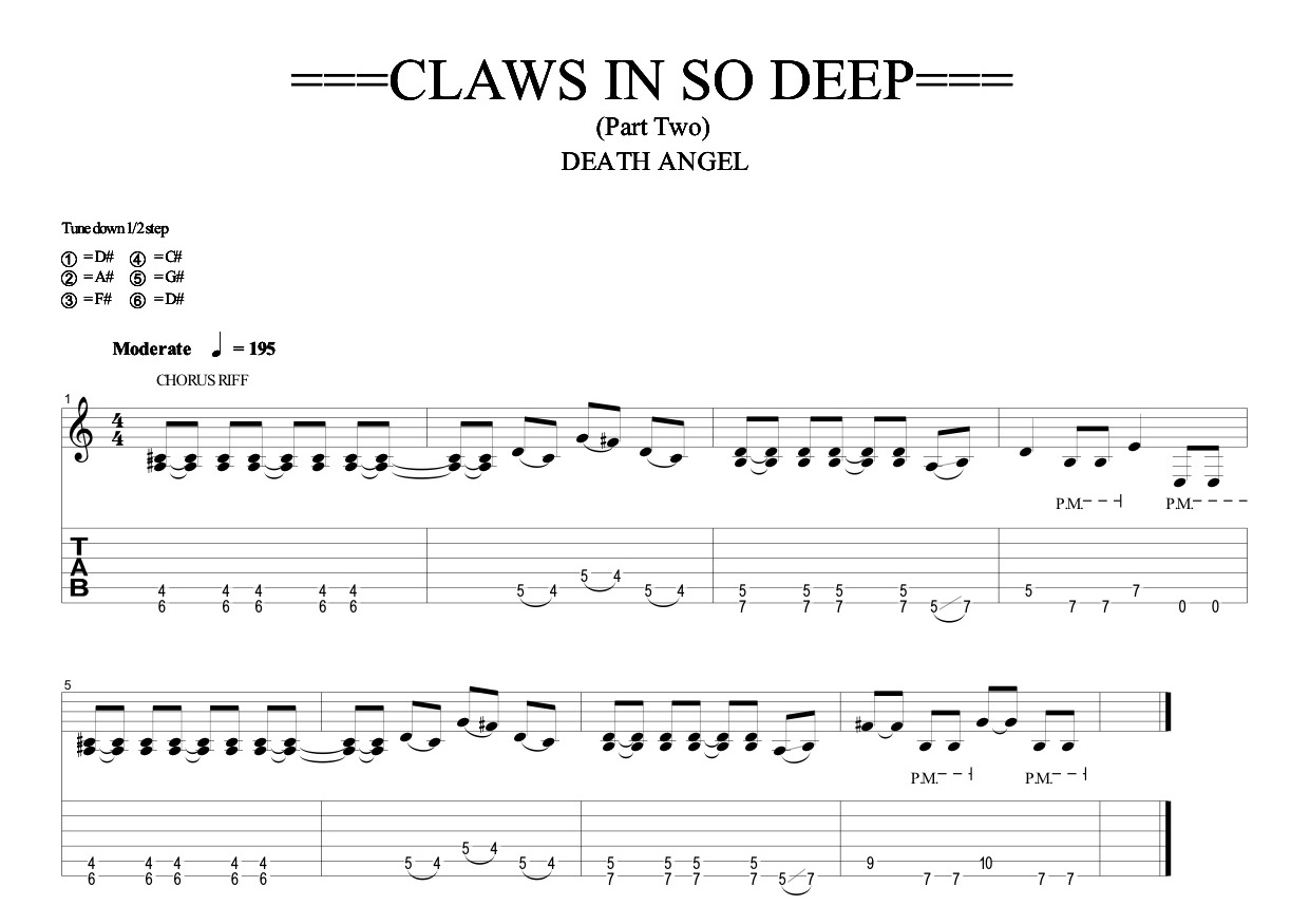 CLAWS IN SO DEEP Part 2 (Quicktime HD)