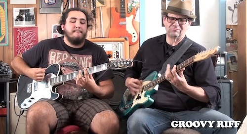 IRON CHEF (Dino's Harmony Part Under The Zappa Groove Riff)