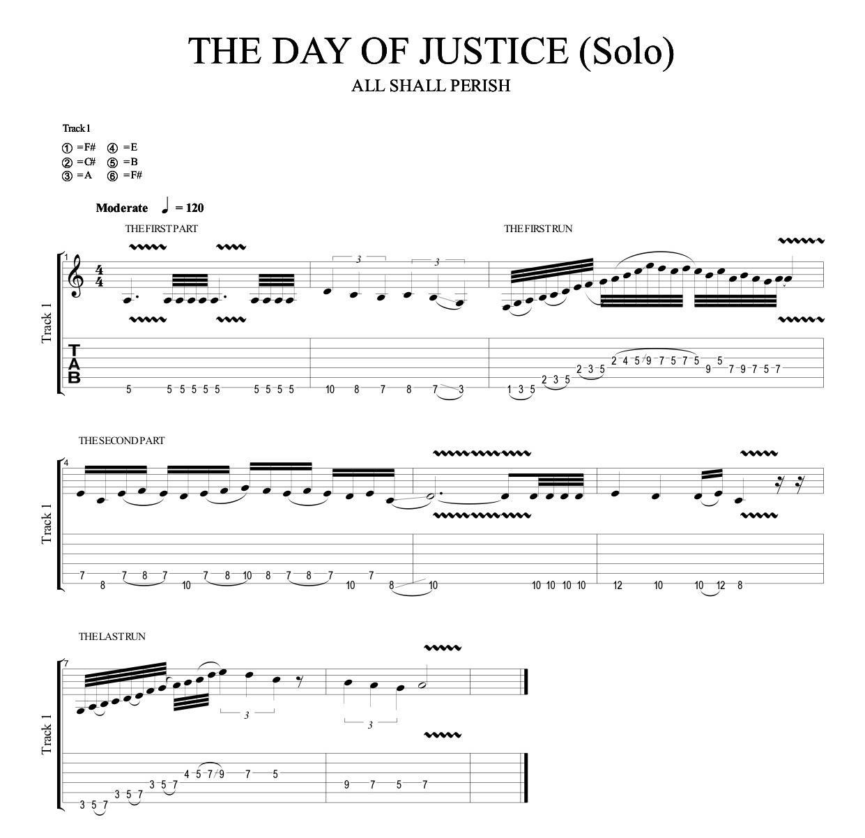 THE DAY OF JUSTICE Solo (Quicktime HD)