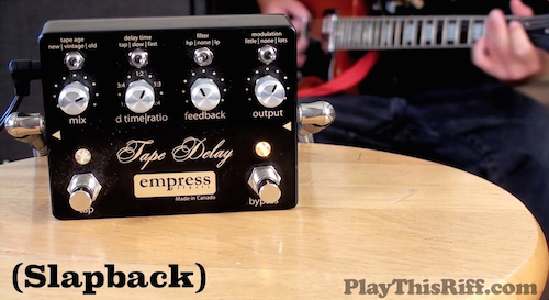 TAPE DELAY by EMPRESS EFFECTS