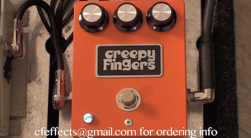 CREEPY FINGERS REGULUS VIII FUZZ